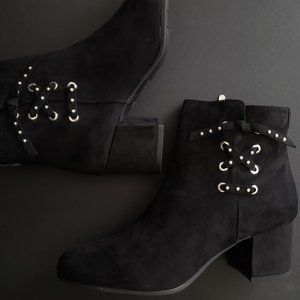 Heeled Black Ankle Boots By Sam Edelman